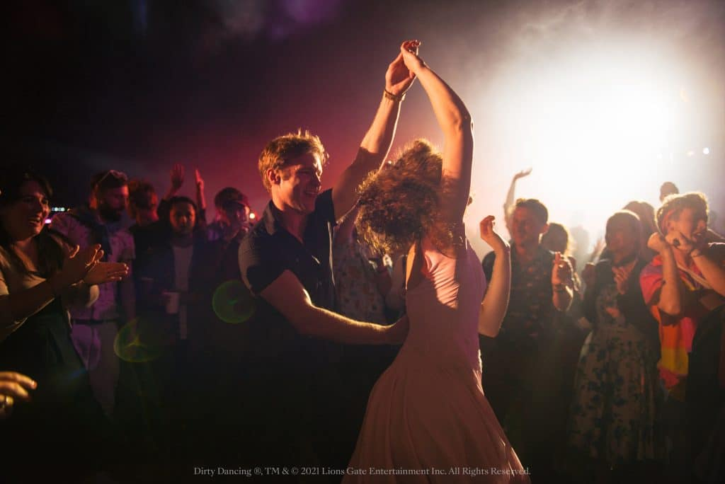A shot from Secret Cinema's Dirty Dancing experience in 2016.