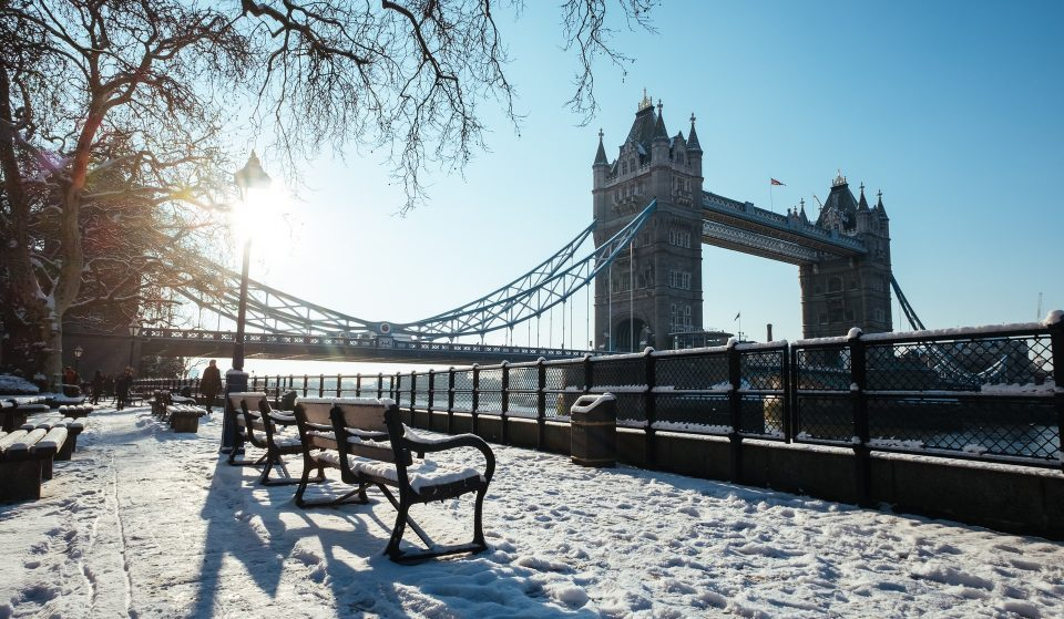 More Snow Is Set To Fall In London This Weekend