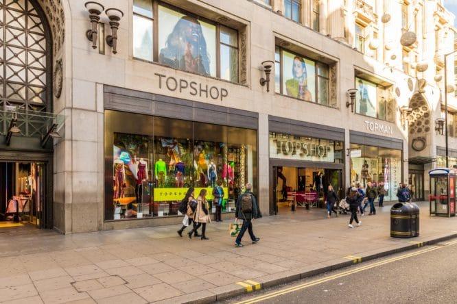 Topshop closing down