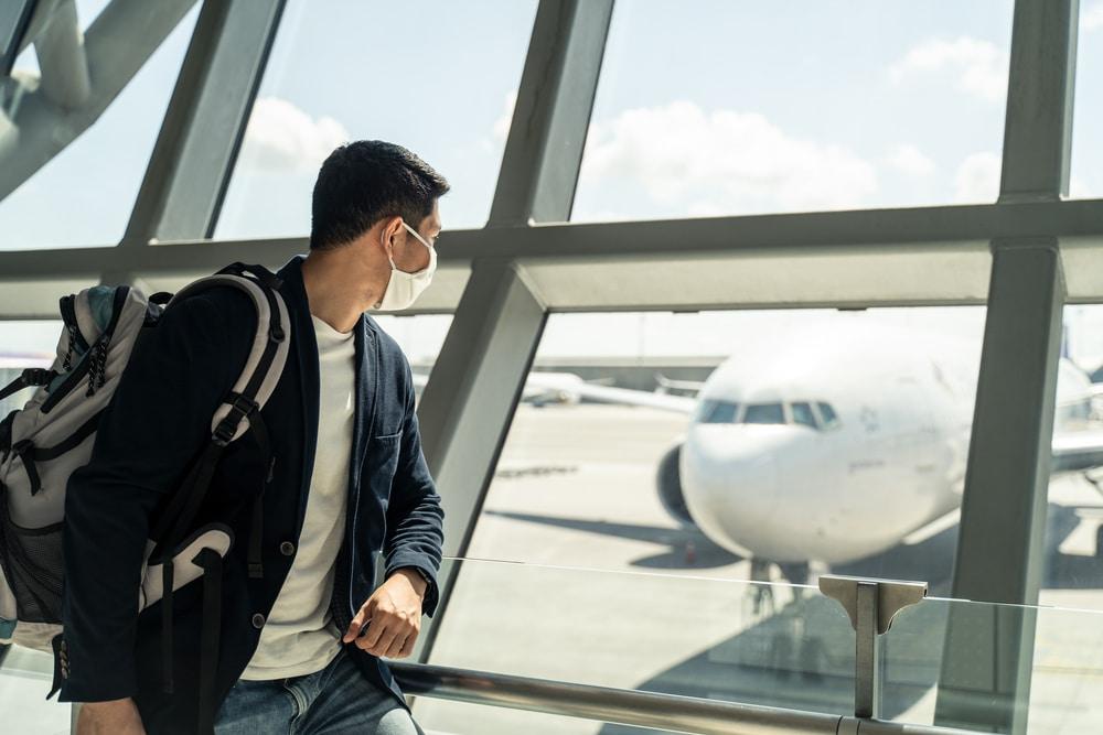 International arrivals negative covid-19 test