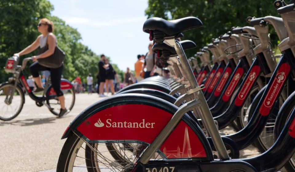 London's Santander Cycles Had A Record Year In 2020