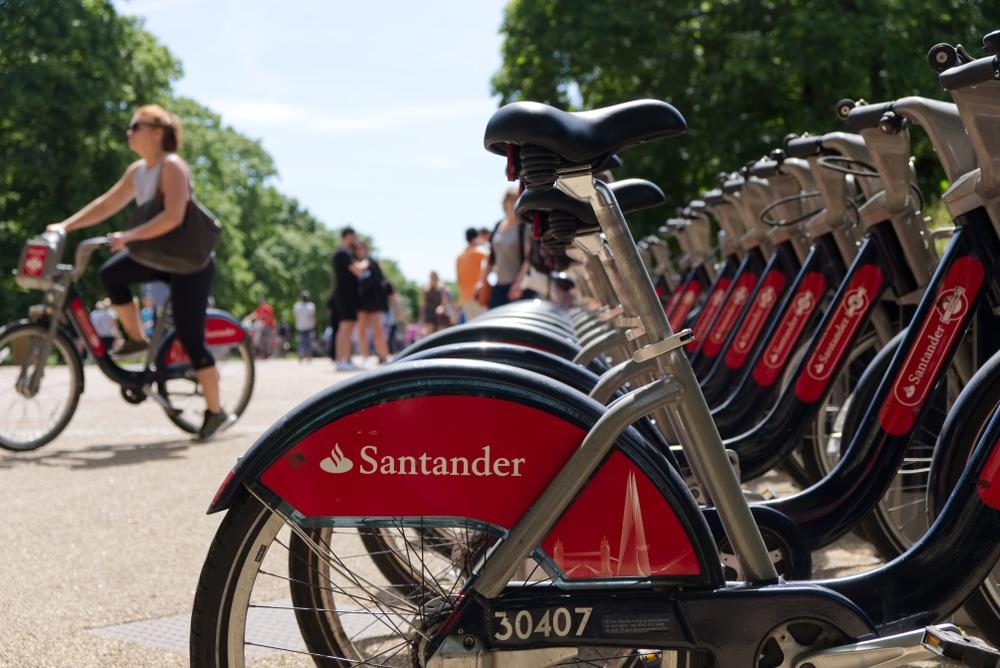 Santander Cycles record
