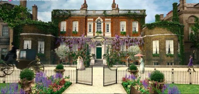 Bridgerton house