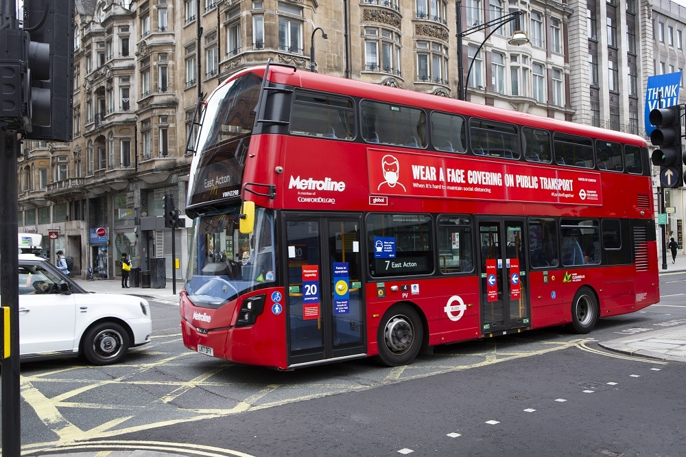 Bus emissions