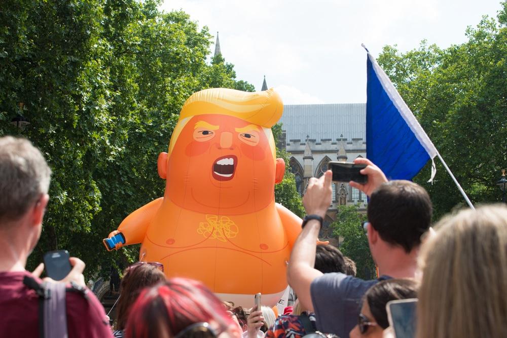 Baby Trump Blimp