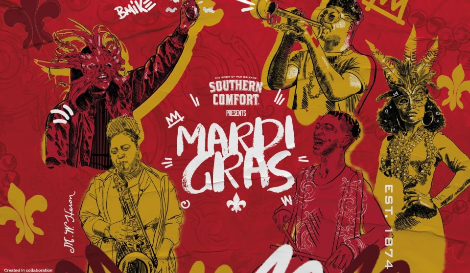 This Virtual Mardi Gras Party Brings Delicious Southern Comfort Cocktails To Your Door