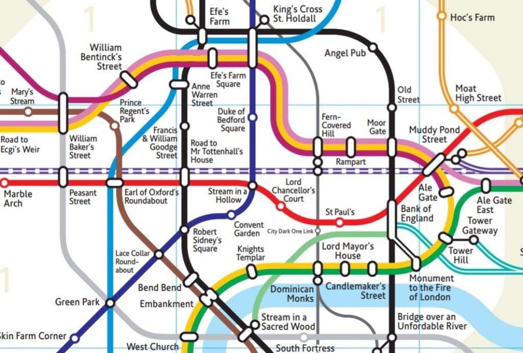 Tube station names