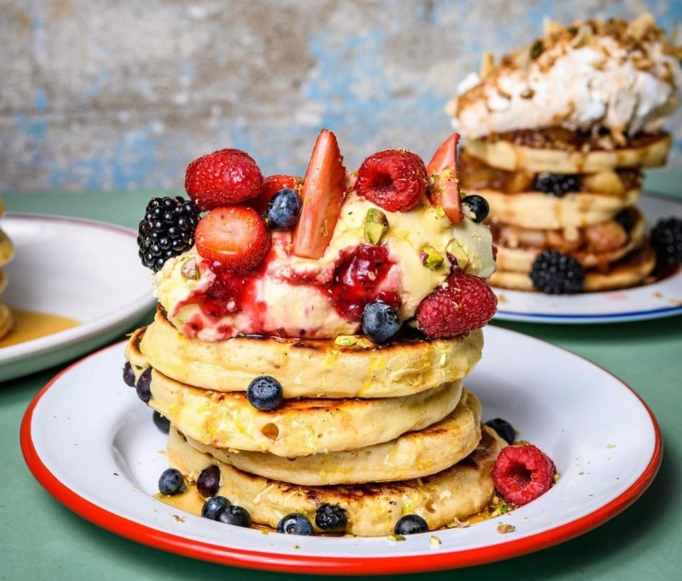The Breakfast Club pancake day