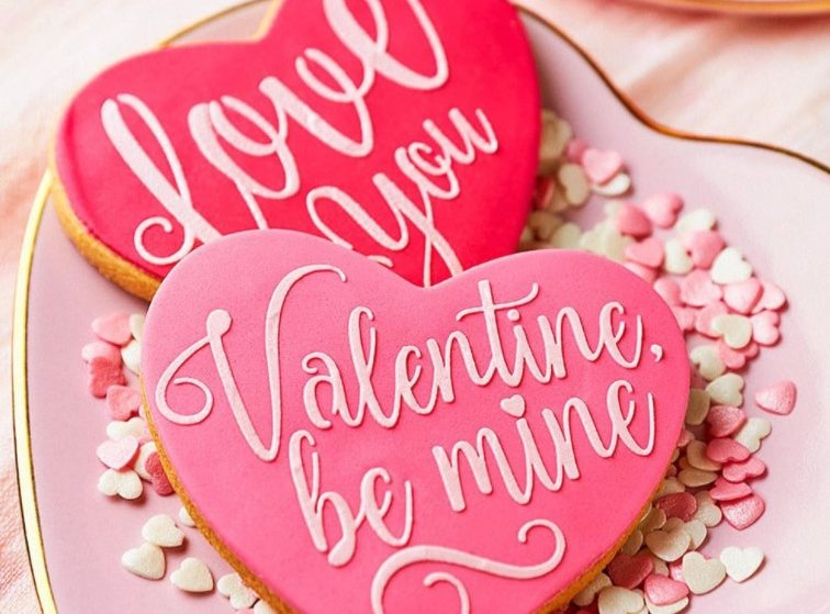 Satisfy Your Sweet Tooth This Valentine's Day With Peggy Porschen's Love Heart Cookies
