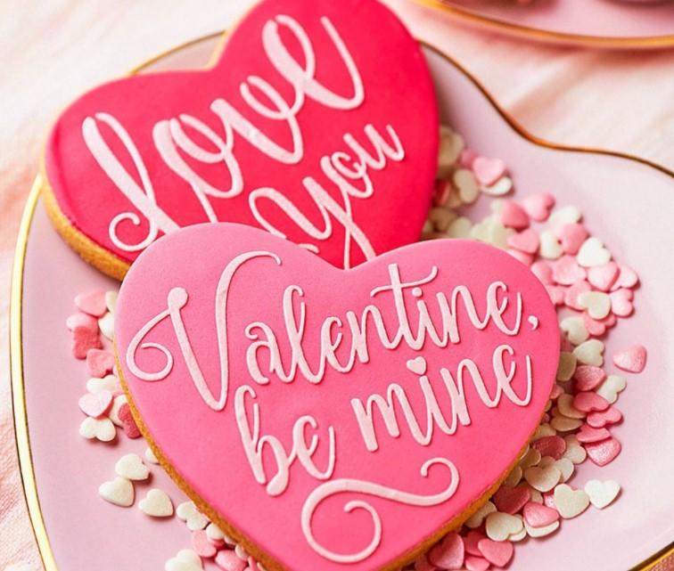 Peggy Porschen Valentine's Day cookies