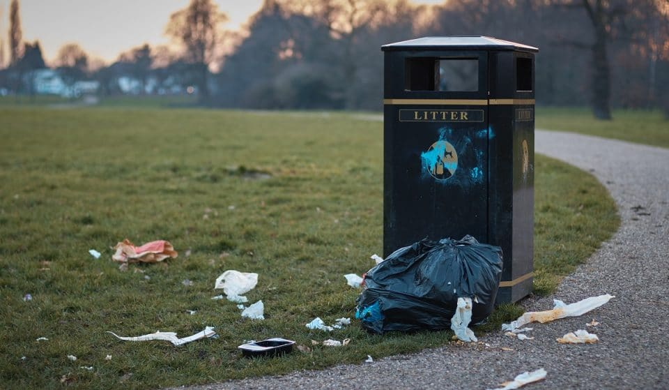 London's Parks Were Full Of Leftover Rubbish After Yesterday's Sunny Weather