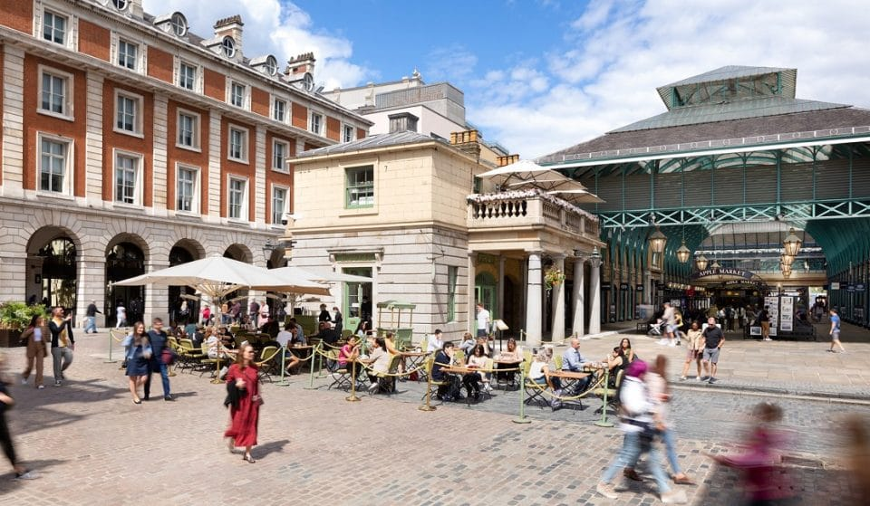 Covent Garden's Giant Outdoor Dining Hub Is Staying Permanently