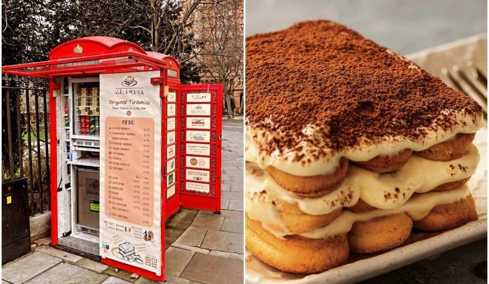 This Red Telephone Box Serves Delicious Homemade Tiramisu To Go • Walkmisú