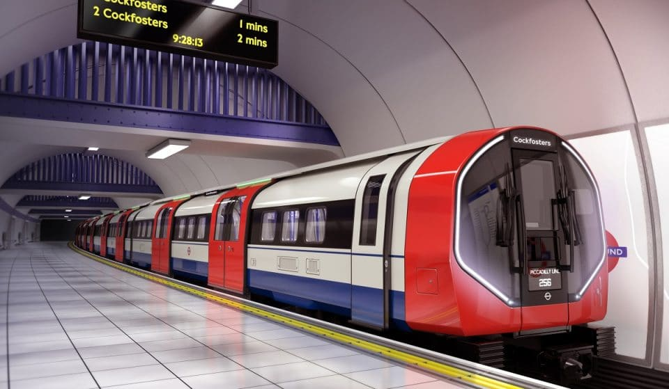 TfL Has Bought The Piccadilly Line Some Fancy New Trains