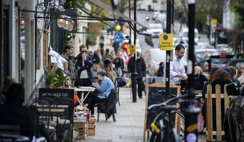 Kensington And Chelsea's Bustling Outdoor Dining Hub Is Here To Stay