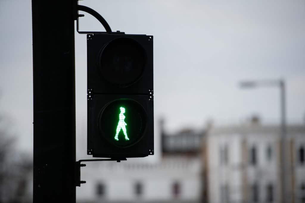 Green woman