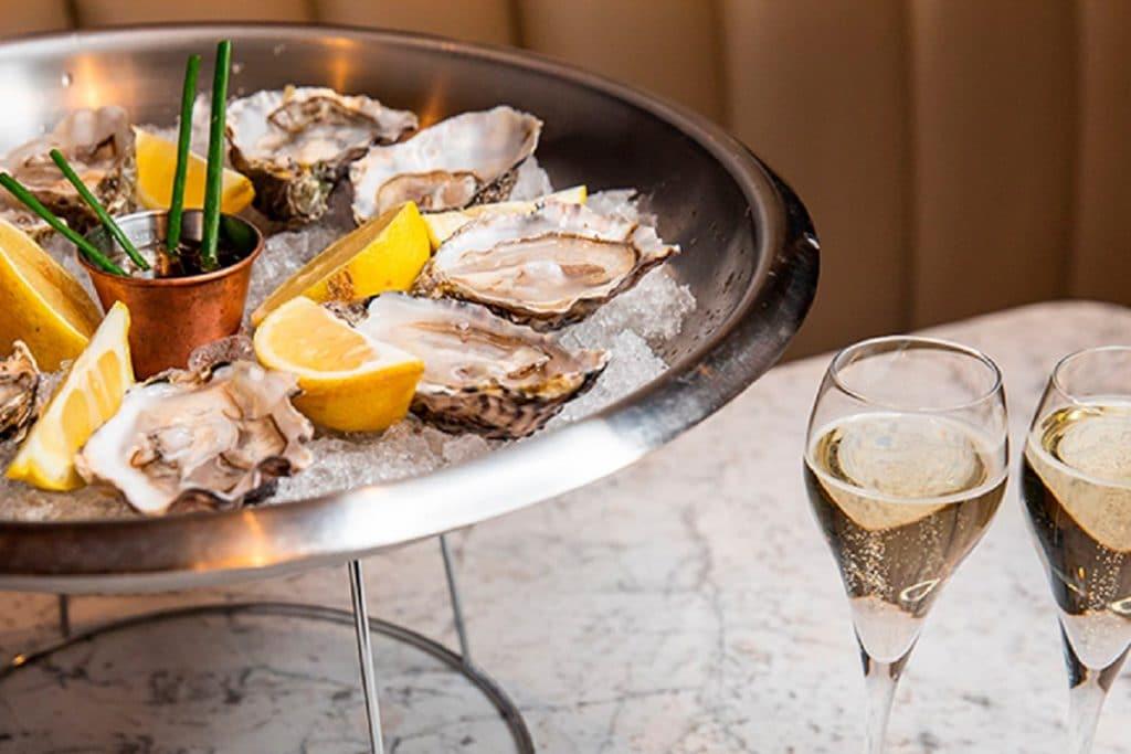 bottomless oyster brunch