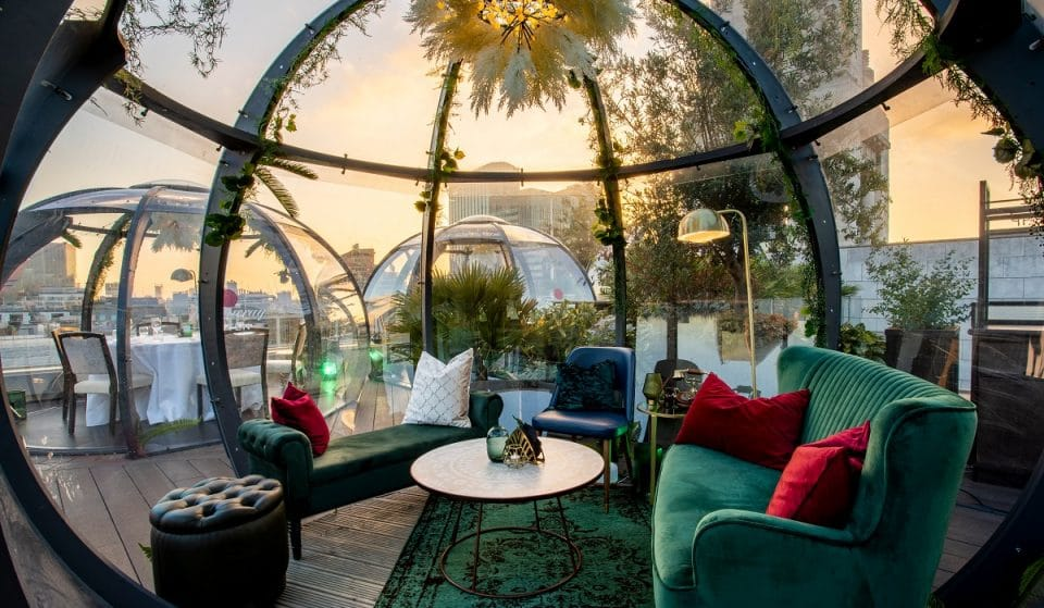These Igloos With A View Are The Perfect Year-Round Rooftop Hangout • Aviary Rooftop