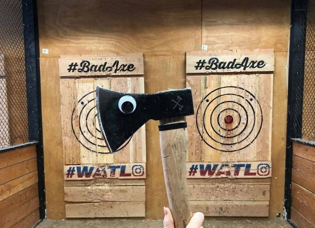 A Brand New Axe-Throwing Bar Could Be Opening Up In BOXPARK Croydon