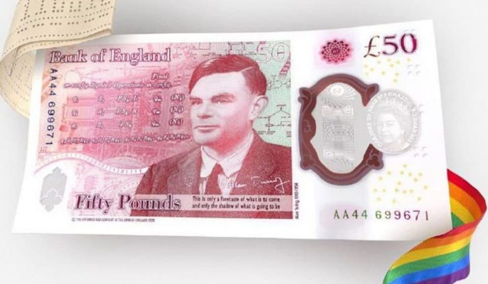 Famed WW2 Codebreaker Alan Turing Is The New Face Of The £50 Note