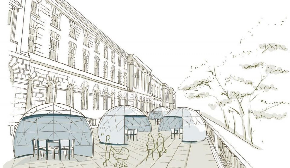 Cute Riverside Dining Domes Are Popping Up At Somerset House This Summer