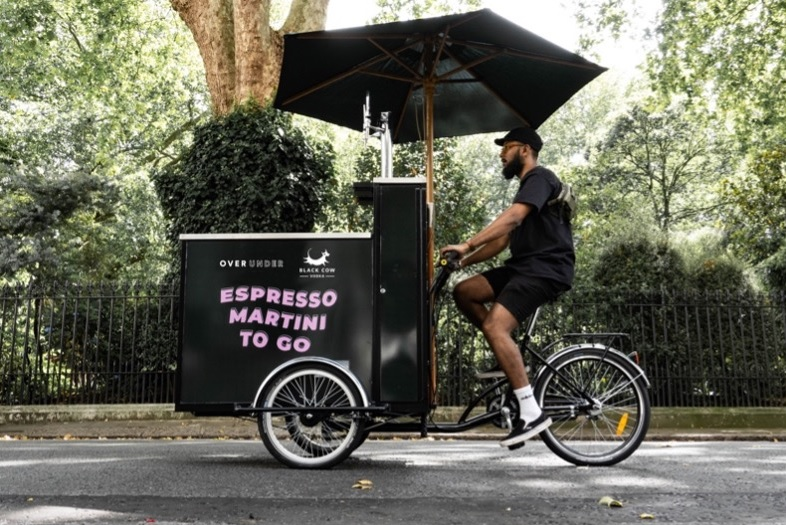 A Roving Espresso Martini Bike Will Deliver Cocktails To You This Weekend
