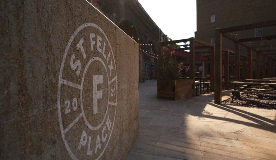 London Bridge Is Getting A Shiny New Outdoor Eating And Drinking Space • St. Felix Place