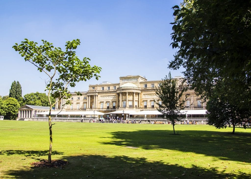 The Buckingham Palace Garden has opened to the public for picnics