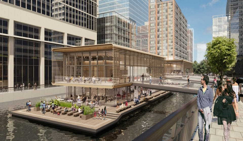 A Pair Of Floating Restaurants Will Open In Canary Wharf This Year