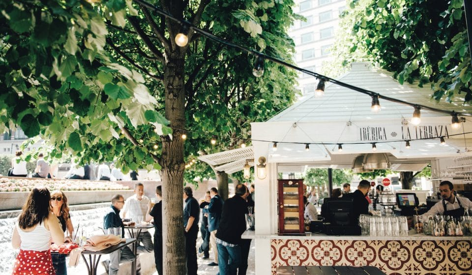 18 Canary Wharf Restaurants And Bars For Outdoor Dining And Drinking