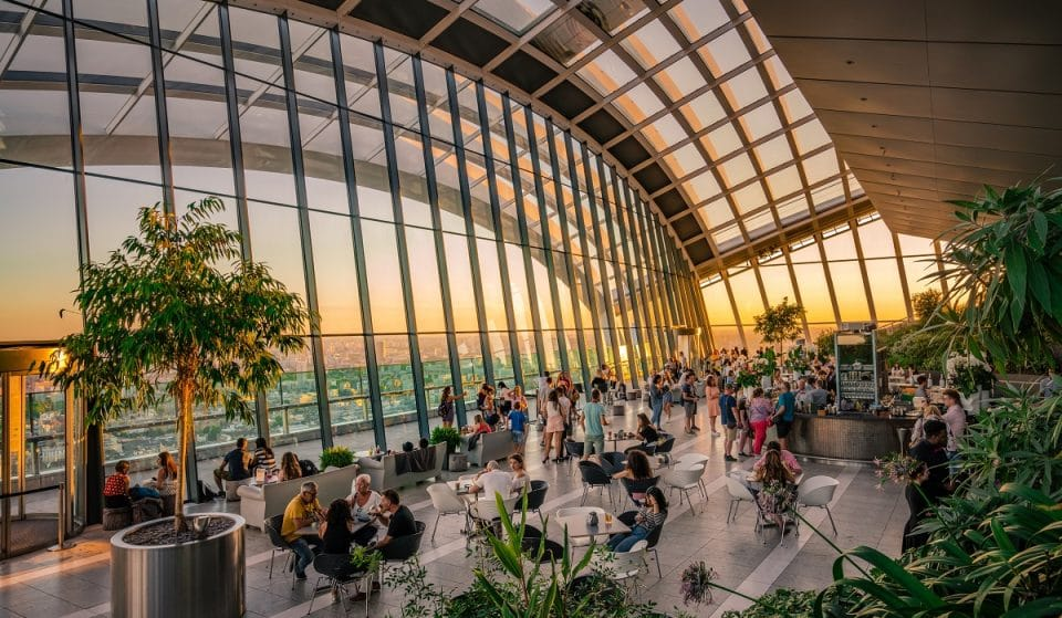 London's Sky Garden Offers Beautiful Views Of The City For Free