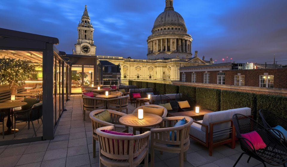 The Beautiful Rooftop Bar With Incredible Views Of St Paul's Cathedral • Sabine