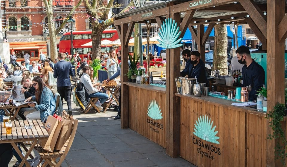 A Glorious Outdoor Pizza And Tequila Bar Has Popped Up In West London