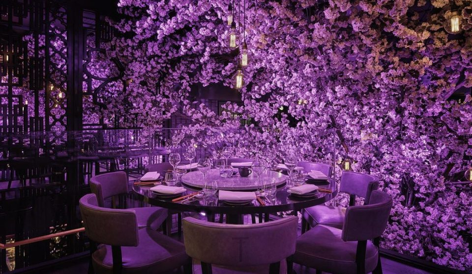The UK's Most Beautiful Blossom-Filled Chinese Restaurant Will Open In London Soon