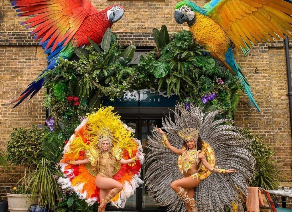 This London Brasserie Has Opened An Alfresco 'Jungle Paradise Terrace' And We're Desperate To Go