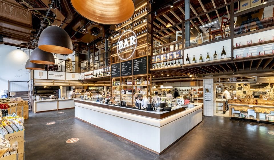 Welcome To London's Truly Giant, Utterly Delicious Italian Food Market • Eataly