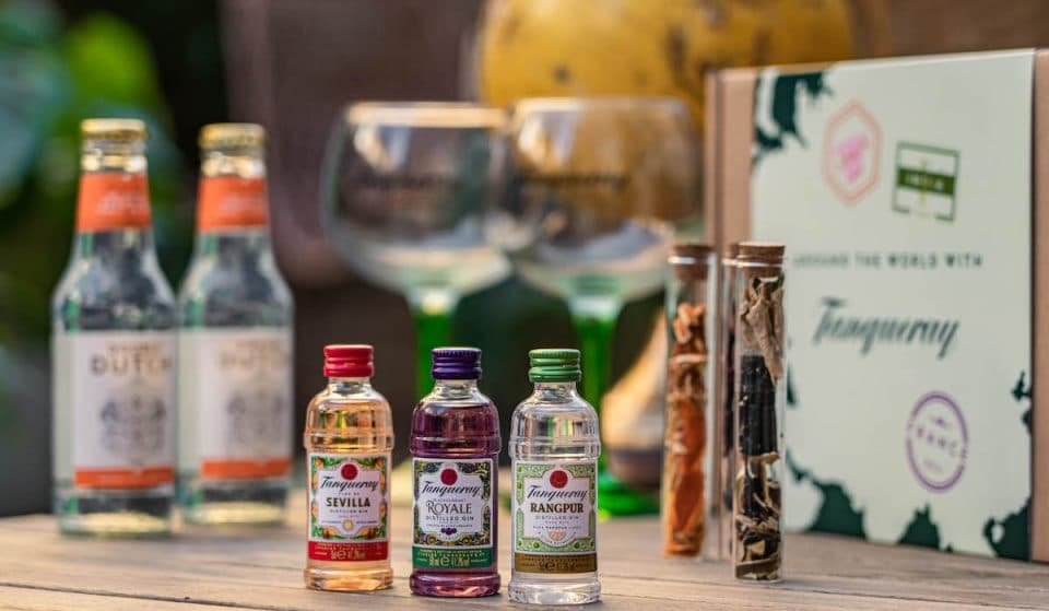 Take Your Tastebuds Around The World With A Delicious Tanqueray Gin Kit