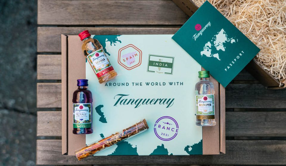 """Here's How You Can Win A Delicious """"Around The World With Tanqueray"""" Gin Kit"""
