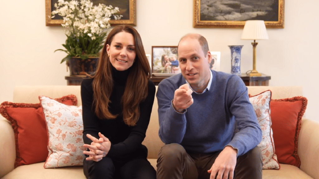 Prince William and Kate Middleton have started their own YouTube channel