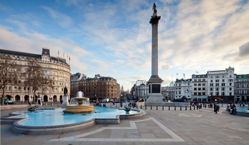 England's Euro 2020 Final Will Be Screened For Free In Trafalgar Square