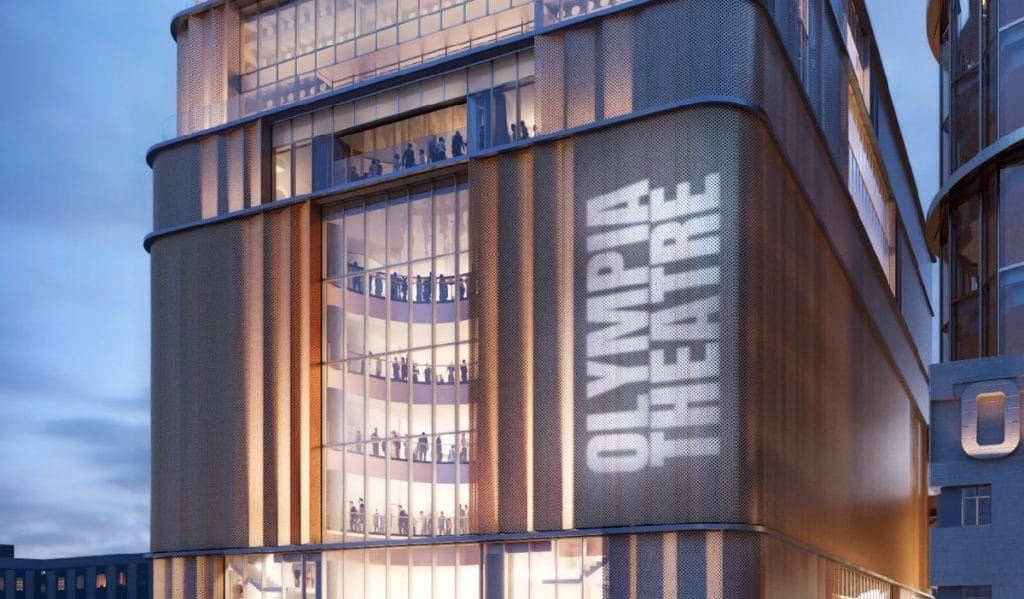 The Olympia Theatre will be the biggest new theatre in London since 1976
