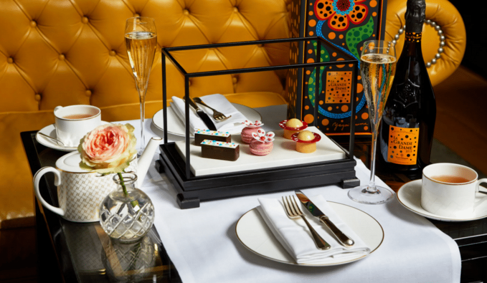 This Dazzling Afternoon Tea Is Inspired By Yayoi Kusama's Infinity Rooms