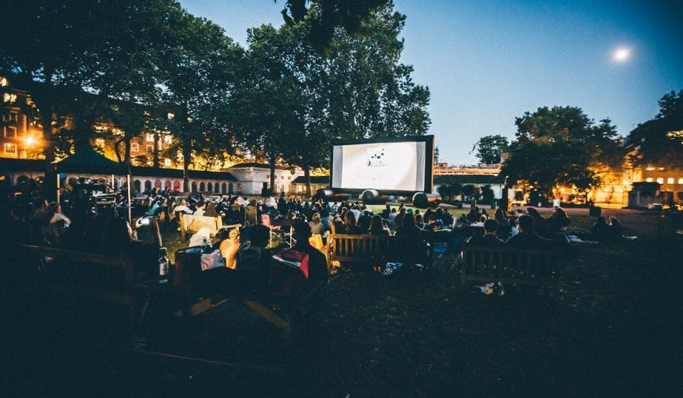 This Brilliant Outdoor Cinema Is Hosting Film Screenings All Over Town This Summer
