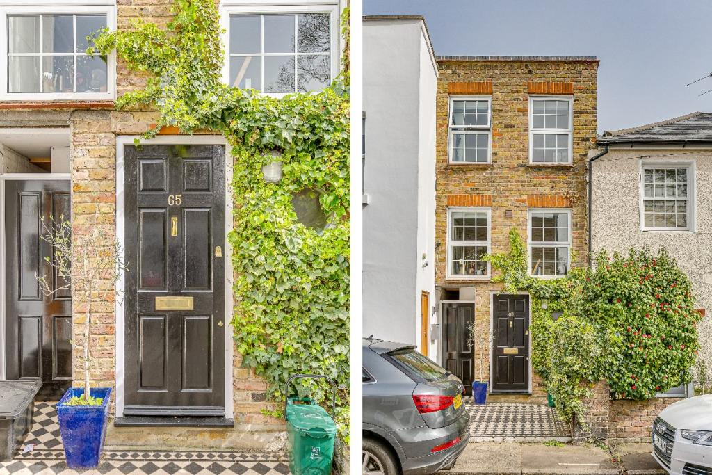 You Can Now Buy One Of London's Skinniest Houses, And It Even Has A 'Secret Garden'