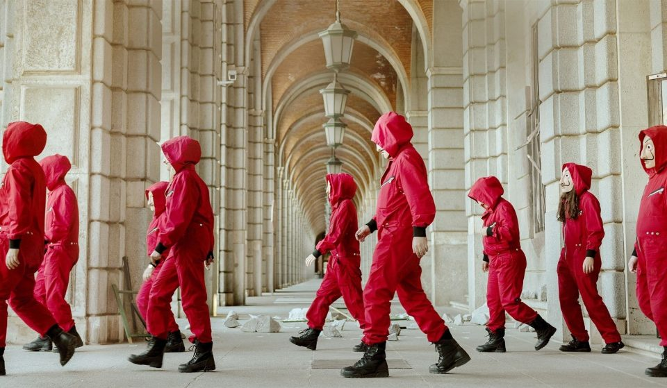 Tickets To London's Epic 'Money Heist' Experience Are Now On Sale