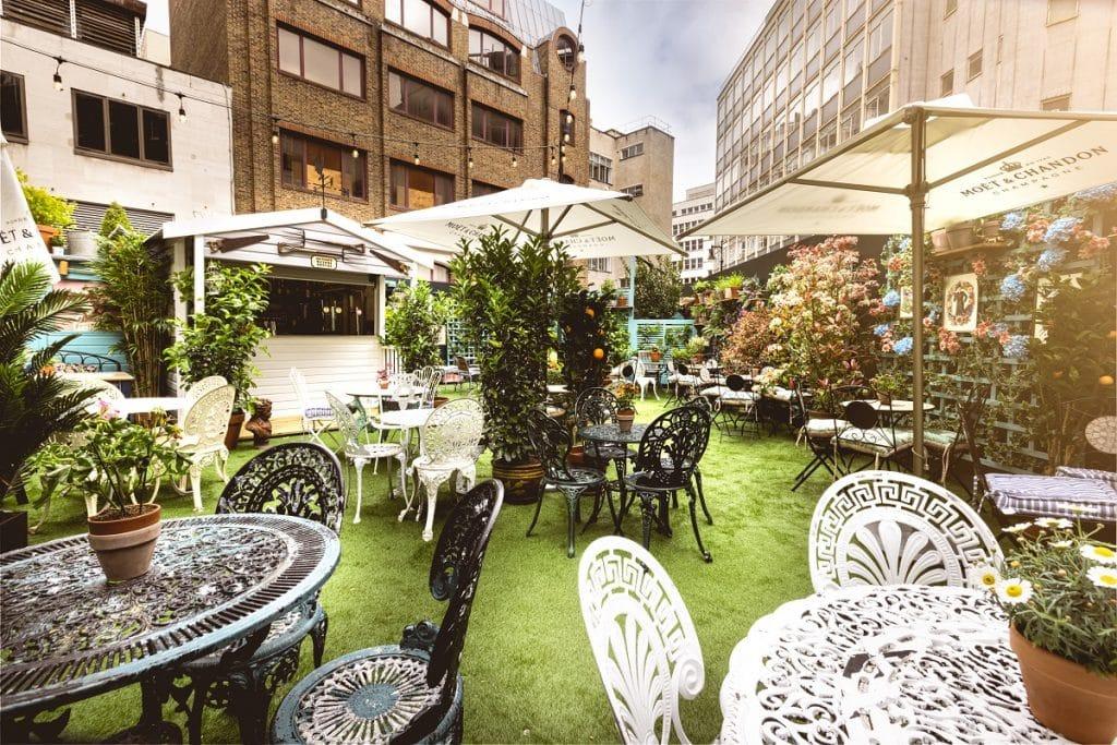 Mr Fogg's Secret Garden in Mayfair