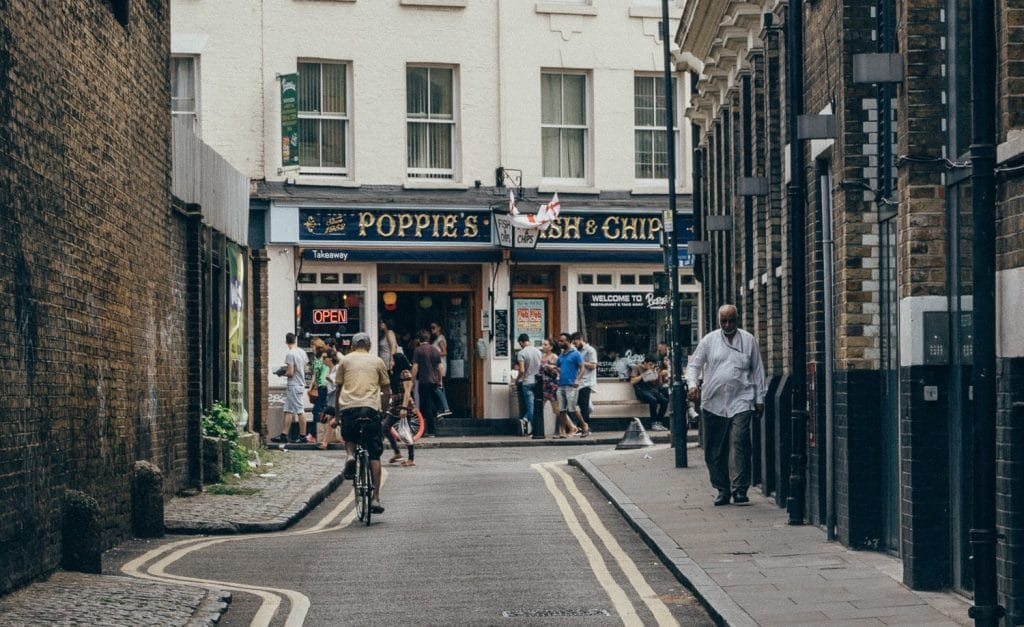 You Can Gorge On Fish And Chips At Poppies For Just 10p Tomorrow