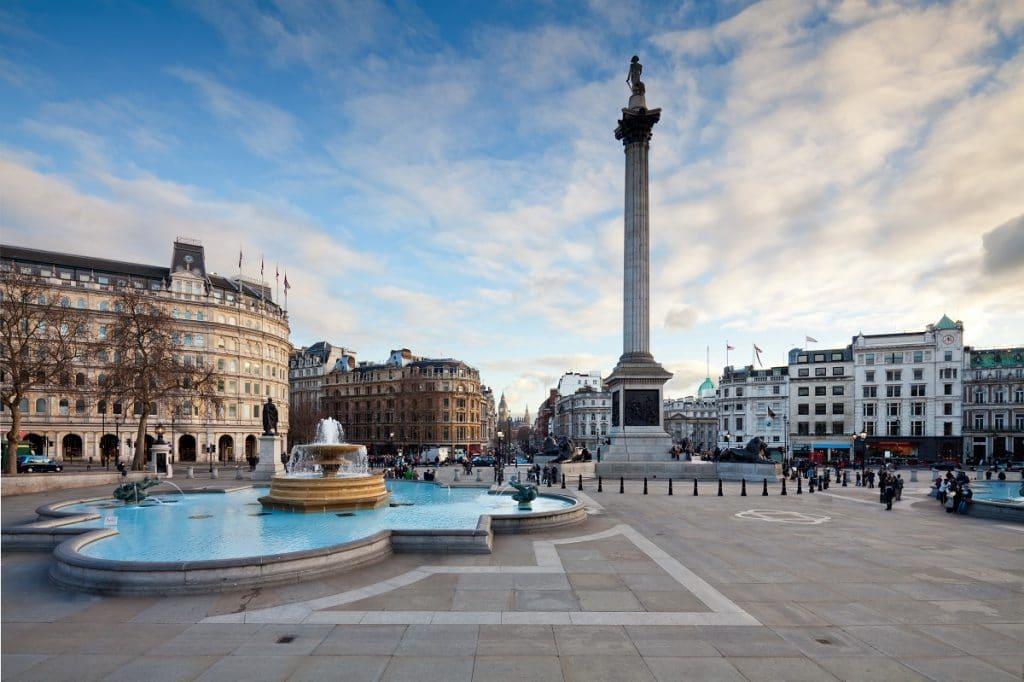 Trafalgar Square free films