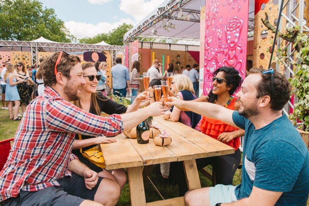 taste of london festival in regent's park