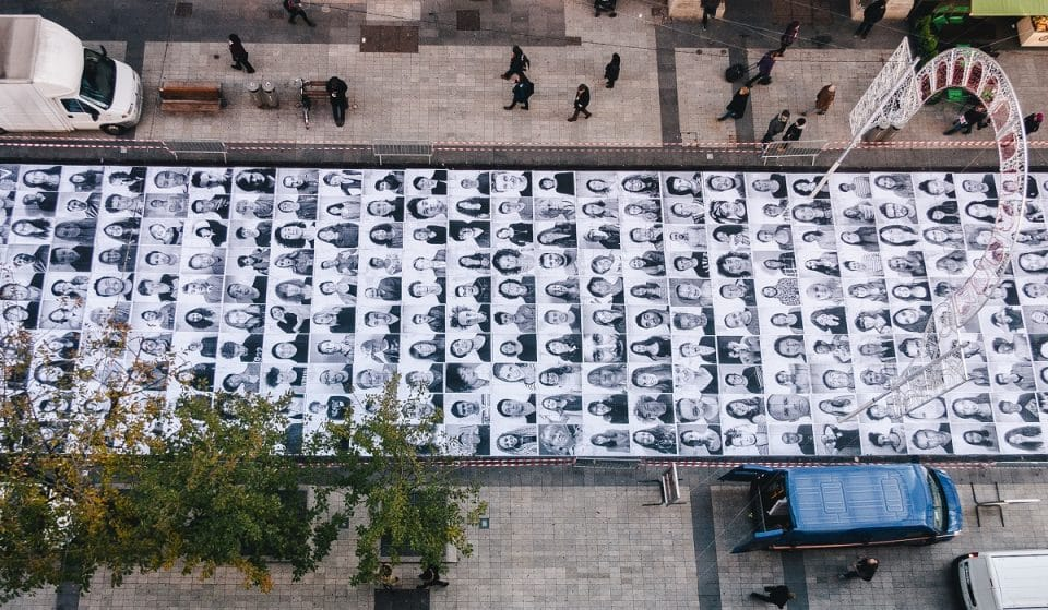 Black And White Portraits Of Londoners Are Being Plastered All Over The City For UEFA EURO 2020
